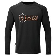 OMM Men's Bearing LS Tee | Black Compass
