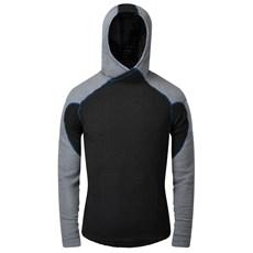 OMM Mens Core+ Hoodie   Black / Grey