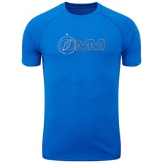 OMM Unisex Compass Trail Tee | Blue