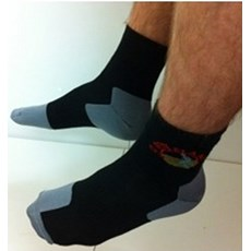 Pete Bland Twin Layer Sock | Black