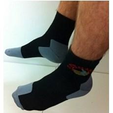 Pete Bland Twin Layer Sock | Black