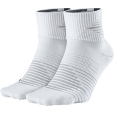 Nike Unisex Lightweight Quarter Sock (2 Pack) | White / Pure Platinum