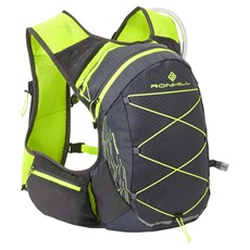 Ron Hill Pioneer 8L Vest | Charcoal / Fluo Yellow