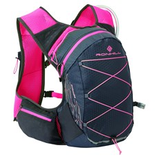 Ron Hill Pioneer 8L Vest | Charcoal / Hot Pink