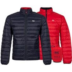 Mac in a Sac Men's Polar Down Reversible Jacket | Navy / Red