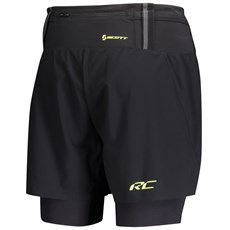 Scott Men's RC Run Hybrid Short | Black / Yellow
