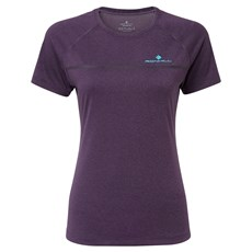 Ron Hill Women's Everyday SS Tee | Blackberry Marl