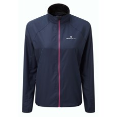 Ron Hill Women's Everyday Jacket | Deep Navy / Azalea