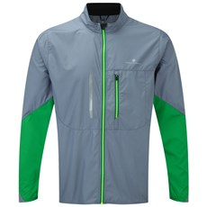 Ron Hill Men's Stride Windspeed Jacket | Granite / Forest
