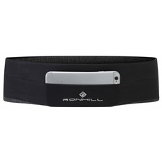 Ron Hill Stretch Waist Pocket | Black / Charcoal Marl