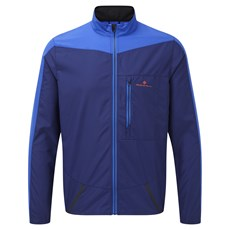 Ron Hill Men's Stride Windspeed Jacket | Midnight Blue / Azurite