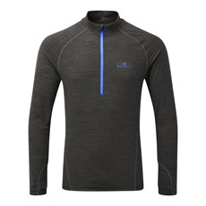 Ron Hill Men's Stride Thermal HZ | Charcoal / Azurite