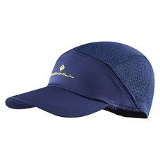 Ron Hill Air Lite Cap | Midnight Blue / Acid
