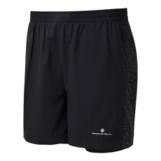 Ron Hill Men's Momentum Twin Short | Black