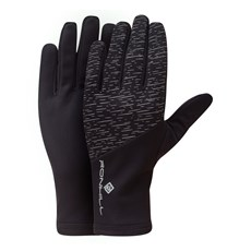 Ron Hill Afterlight Glove | Black / Reflect