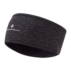 Ron Hill Afterlight Headband | Black / Reflect