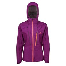 Ron Hill Women's Infinity Fortify Jacket | Grape Juice / Hot Coral
