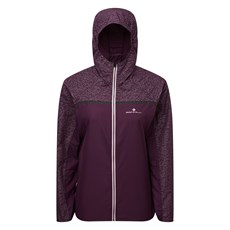 Ron Hill Women's Momentum Afterlight Jacket | Aubergine / Blossom