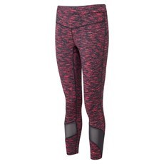 Ron Hill Women's Infinity Crop Tight | Charcoal / Hot Pink