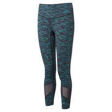 Ron Hill Women's Infinity Crop Tight | Charcoal / Peacock