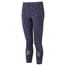 Ron Hill Women's Infinity Crop Tight | Blackberry / Aquamint