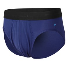 Ron Hill Men's Brief | Midnight Blue / Electric Blue