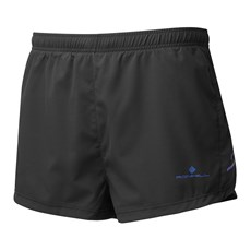 Ron Hill Men's Stride Cargo Racer Short | Black / Azurite