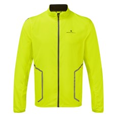 Ron Hill Men's  Stride Sundown Jacket | Fluo Yellow / Reflect