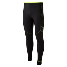 Ron Hill Men's Stride Winter Tight | Black / Fluo Yellow