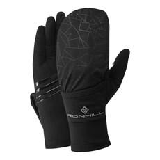 Ron Hill Wind Block Flip Glove | Black