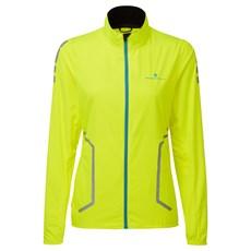 Ron Hill Women's Stride Sundown Jacket | Fluo Yellow / Reflect