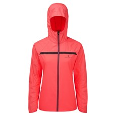 Ron Hill Women's Momentum Afterlight Jacket | Hot Pink / Reflect