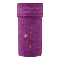 Ron Hill Stretch Arm Pocket | Grape Juice / Hot Coral