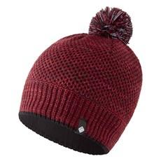 Ron Hill Bobble Hat | Black / Cabernet
