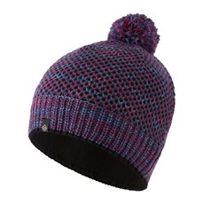 Ron Hill Bobble Hat | Blackberry / Aquamint