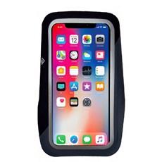 Ron Hill Large Phone Armband | Black / Charcoal