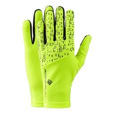 Ron Hill Night Runner Glove | Fluo Yellow / Reflect