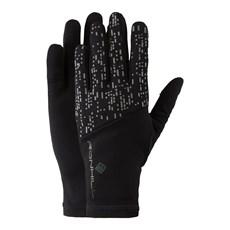 Ron Hill Night Runner Glove | Black / Reflect