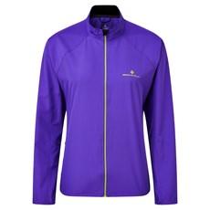 Ron Hill Womens Core Jacket | Plum / Citrus