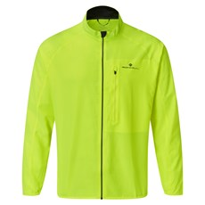 Ron Hill Mens Core Jacket | Fluo Yellow / Black