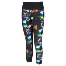 Ron Hill Womens Life Crop Tight   Black / Space Floral