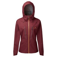 Ron Hill Womens Tech Fortify Jacket | Cabernet / Dune