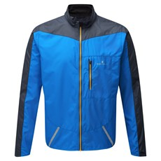 Ron Hill Men's Stride Windspeed Jacket | Electric Blue / Charcoal