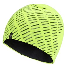 Ron Hill Classic Beanie | Fluo Yellow / Charcoal