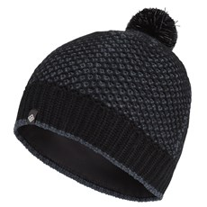 Ron Hill Bobble Hat | Black / Charcoal