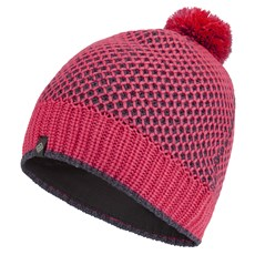 Ron Hill Unisex Thermal Bobble Hat | Hot Pink / Charcoal