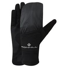 Ron Hill Unisex Wind-block Flip Glove | Black