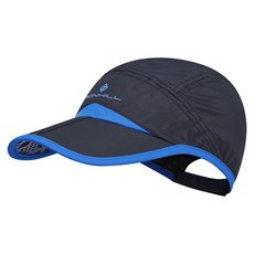 Ron Hill Split Cap | Black / Electric Blue