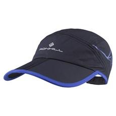 Ron Hill Unisex Trail Cap | Black / Cobalt