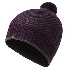 Ron Hill Bobble Hat | Aubergine / Charcoal